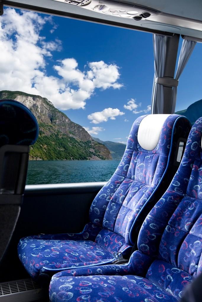 niezwykle komfortowe fotele w naszym busie