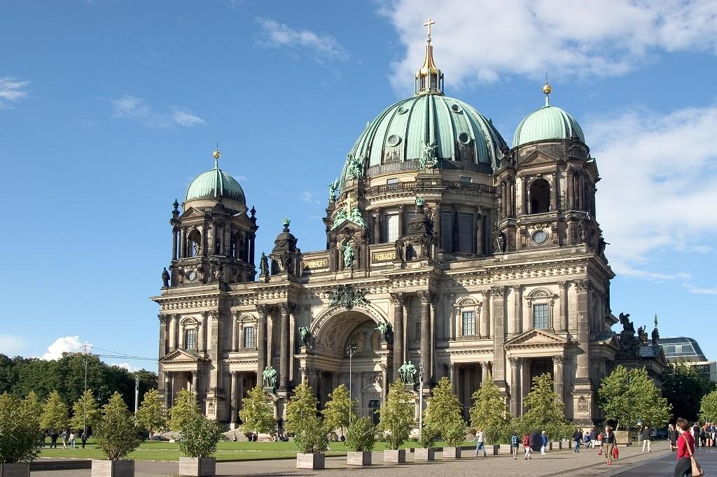 ewangelicka katedra znajdująca się w Berlinie